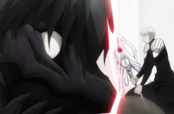 Kaneki and Arima fighting ep14