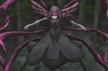 Kurona in her ghoul form