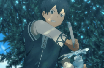 Kirito Opening the Sword