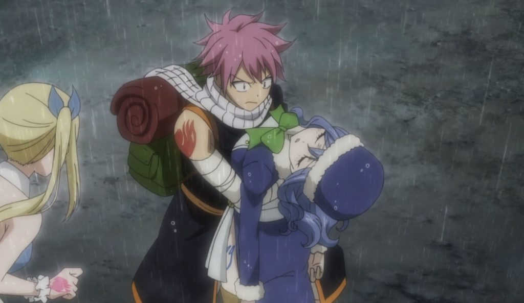 Juvia fainted