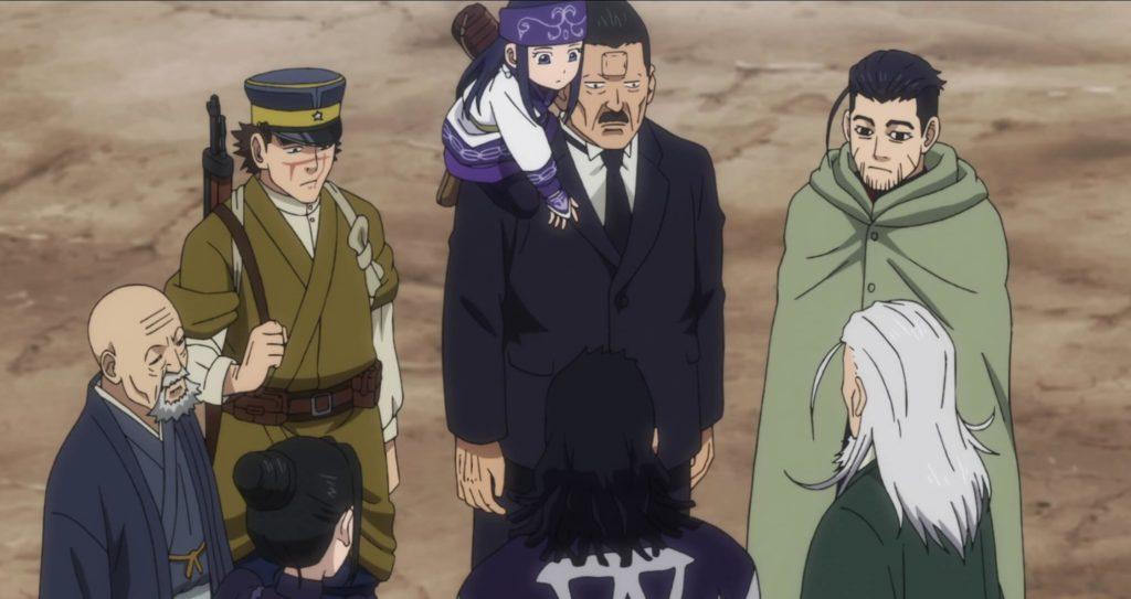 Everyone in on the street of Asahikawa