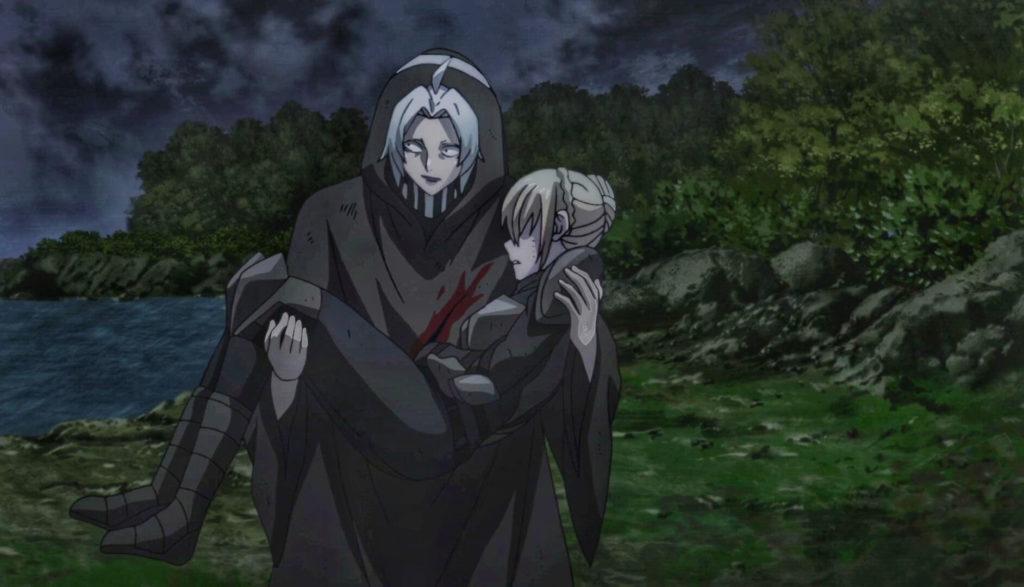 Takizawa carrying Akira
