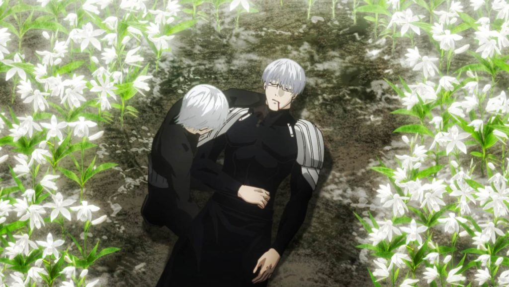 Arima and Kaneki Death