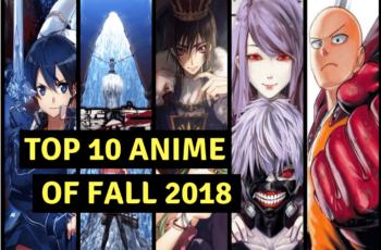 Anime list fall 2018