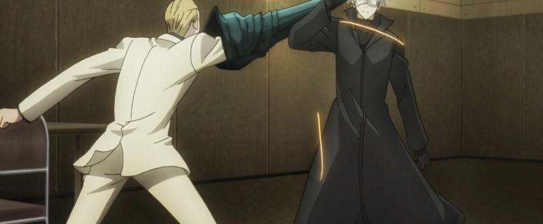 Naki fights Kaneki